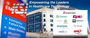 KSI cleanable keyboards offer seamless integration with leading healthcare SSO software, including Imprivata, Epic, Meditech, Caradigm, CDW Healthcare, HealthCast, McKesson, Allscripts, and Cerner
